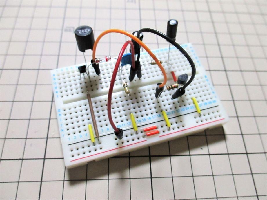 シャンテック電子 2石トランジスタラジオキット