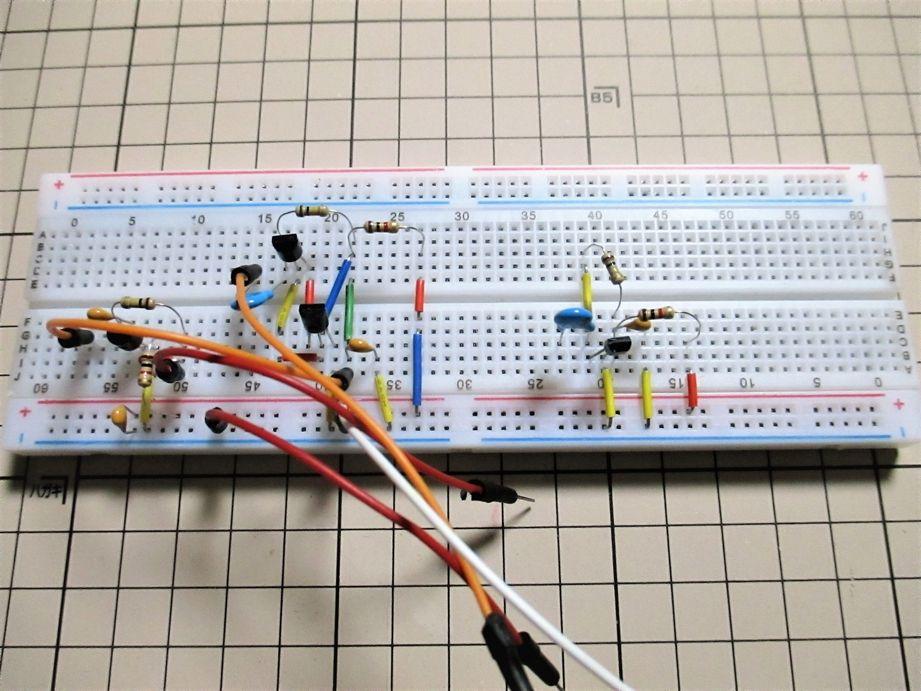 3端子ラジオIC:LMF501Tの代替回路