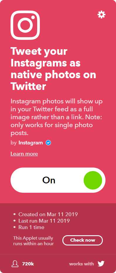 Tweet your Instagrams as native photos on Twitter