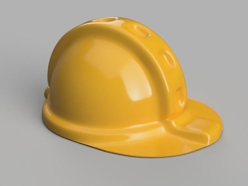 工事用ヘルメットを作る