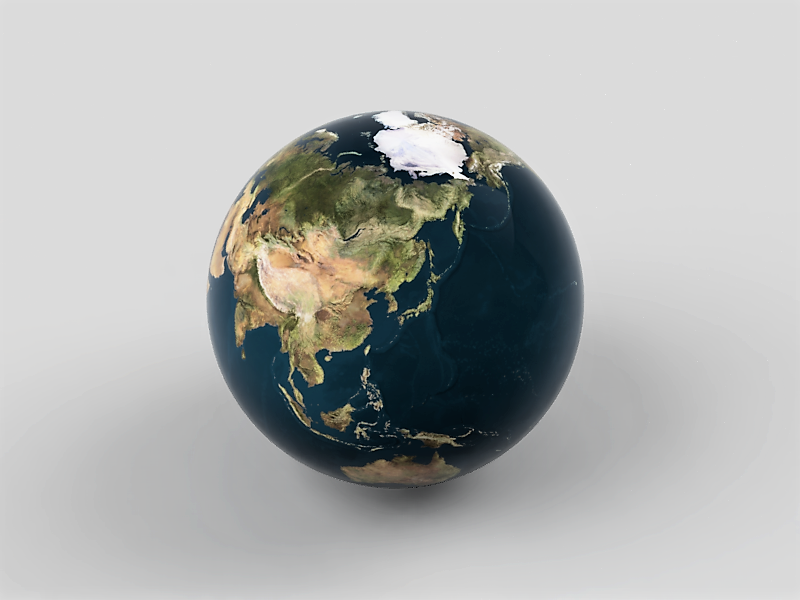 地球 テクスチャ マップ 球状