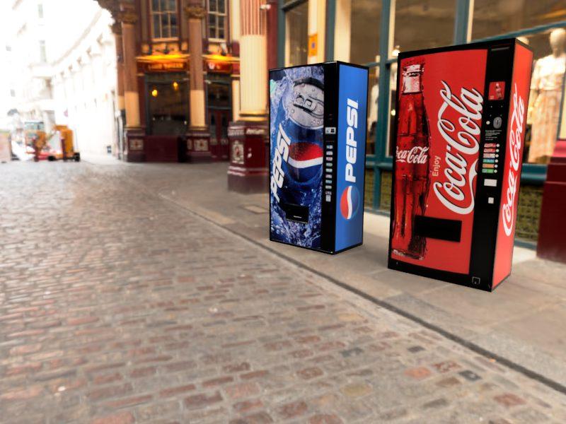 コカ・コーラ&ペプシコーラ Leadenhall Market 3