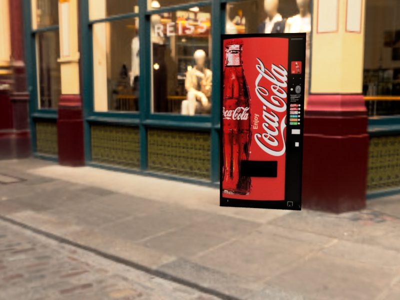 コカ・コーラ&ペプシコーラ Leadenhall Market 1