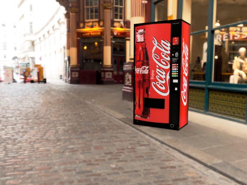 コカ・コーラ&ペプシコーラ Leadenhall Market 2