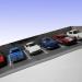 ジオラマ駐車場の拡張工事完了。収容台数4台から7台へ!
