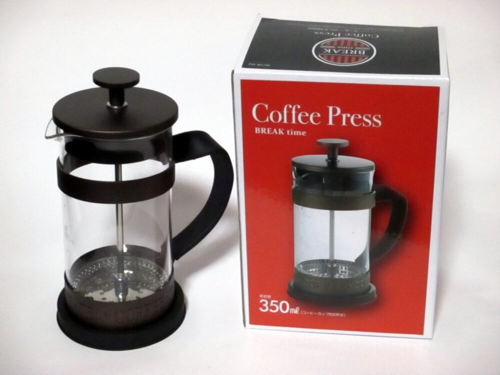 パール金属 コーヒー プレス 350ml フレンチプレス ブレイクタイム HB-552