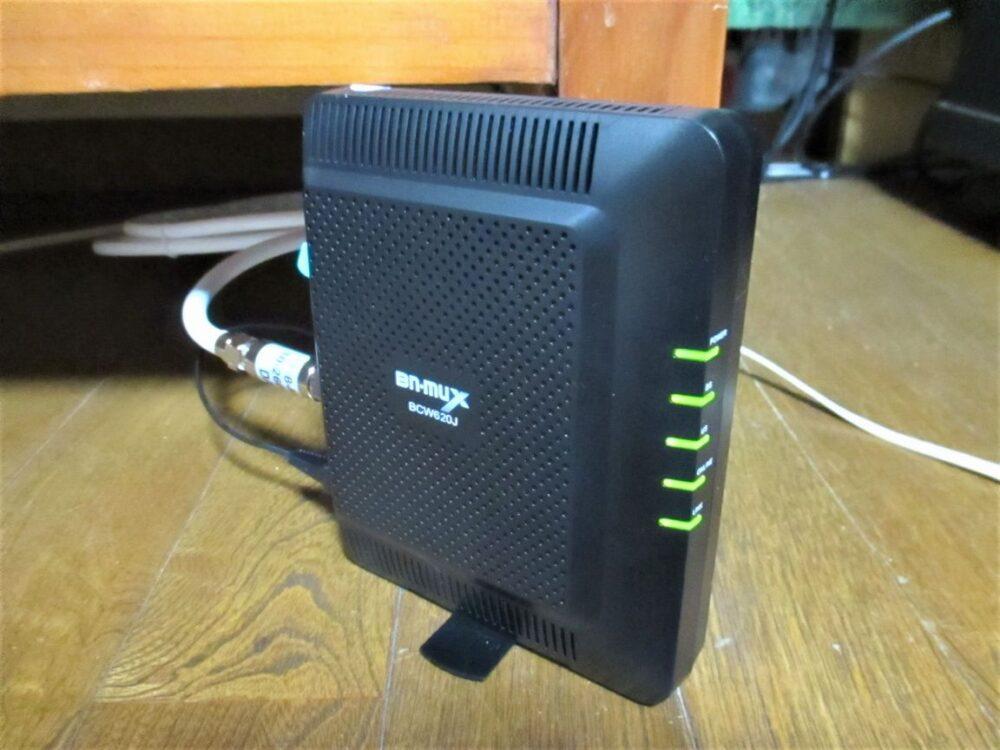 Yahoo! BB ADSL 12M 通常タイプからCATVシンプル!10Mに乗り換える。