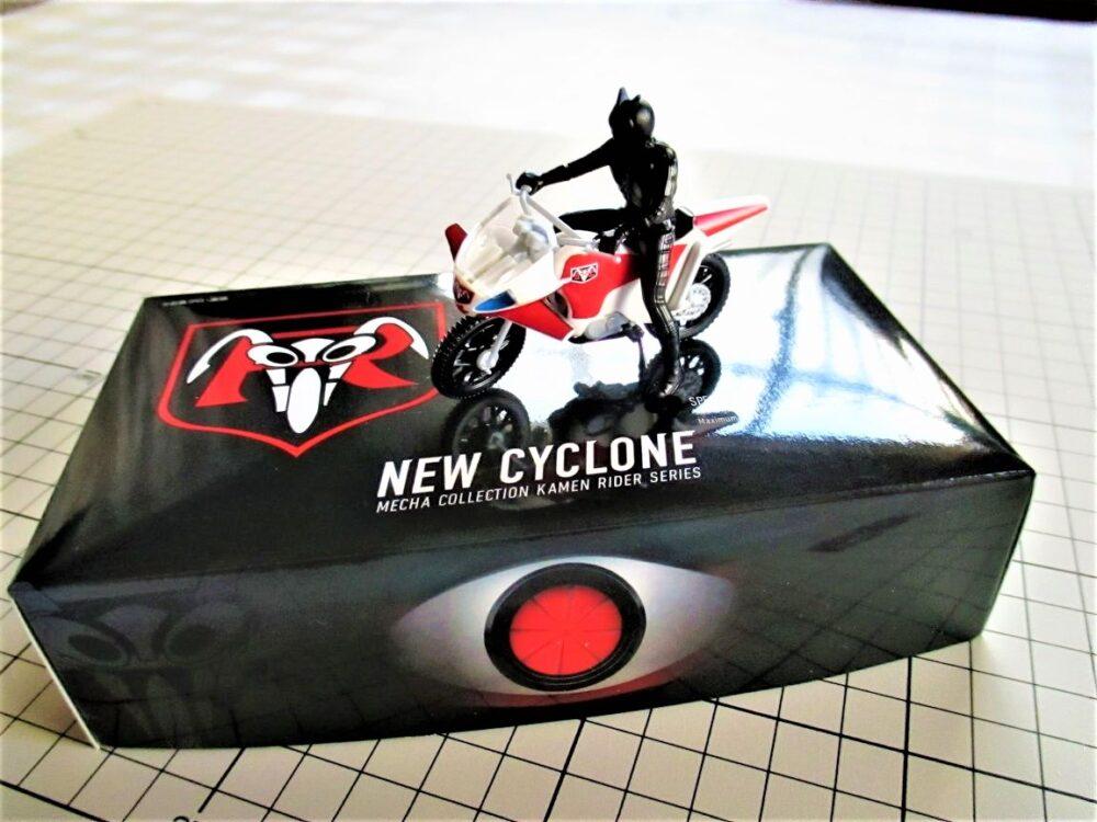 仮面ライダーシリーズ 新サイクロン号 ディスプレイ1