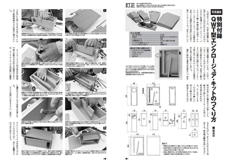 QWT型エンクロージュア・キットの作り方