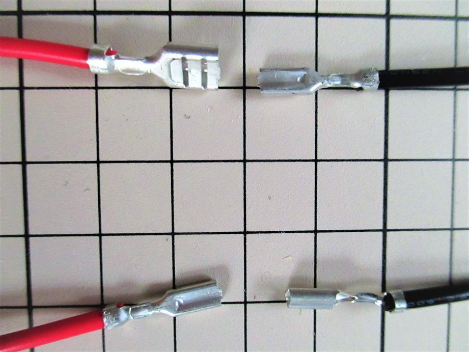 内部配線用ケーブル先端部