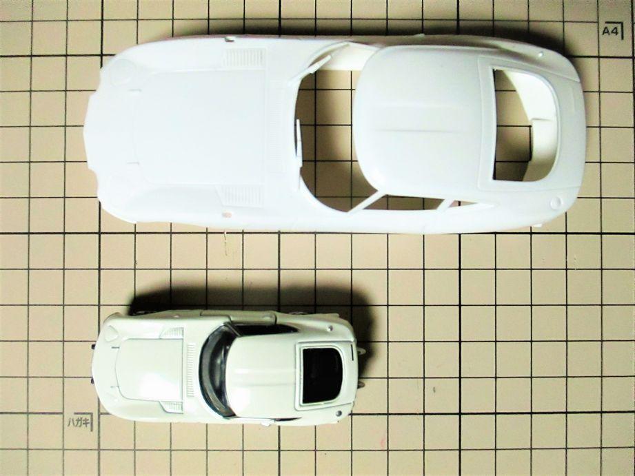 トヨタ 2000GT スケール比較 1/32と1/59