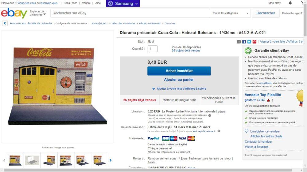 ebay商品ページ フランス版
