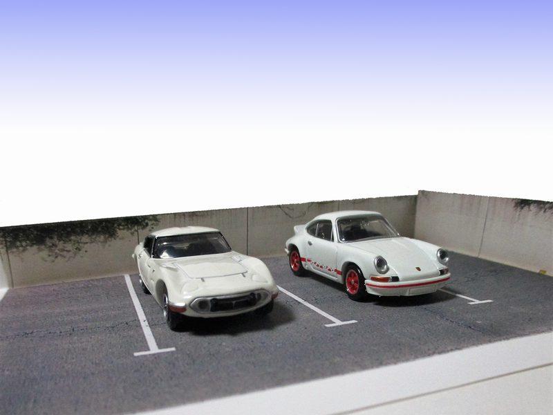 旧駐車場ジオラマ