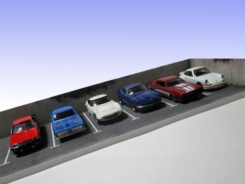 駐車場大型拡張