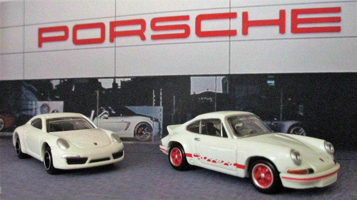 Diorama Porsche Car Dealer