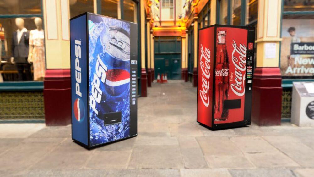 コカ・コーラ&ペプシコーラ Leadenhall Market 4