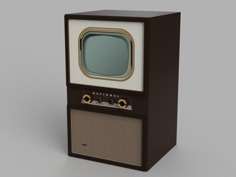 ナショナル 白黒テレビ